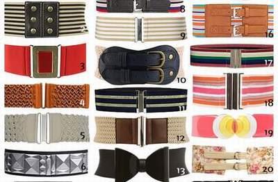 2cfb3d12959 ceinture elastique cuir