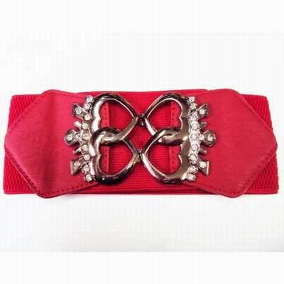 ceinture rouge grande taille,ceinture rouge la redoute,ceinture gucci rouge  et bleu efb458457ce