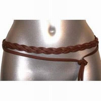 ceinture tressee cuir femme ceinture cuir tresse pour. Black Bedroom Furniture Sets. Home Design Ideas