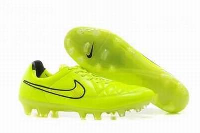 half off 8bd75 66318 chaussure de foot nike jaune fluo