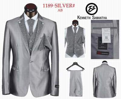 costume Kenneth Samantha homme col mao mariage pas cher 259fd3eefd1