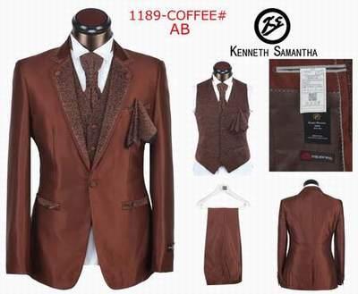 gilet costume Kenneth Samantha homme bordeaux 994d8430c6f
